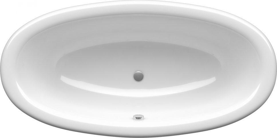 Ванна AMUR (180*90*48) овальная на ножках, без панели, без слива